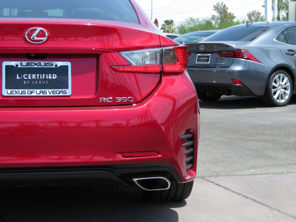 Photography Services for Auto Dealerships - Red lexus